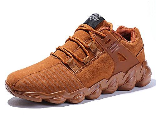 IIIIS-F Zapatillas de Deporte Zapatos Deportivos de Los Planos Atléticas Ocasionales de La Malla Respirable del de Las Unisex