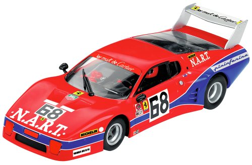Carrera - 30576 - Voiture Miniature - Ferrari 512 BB - LM Nart - No. 68 - Daytona '79 - Echelle 1/32