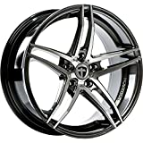 Tomason TN12 8,5x18 LK 5x112 Dark hyperblack polished VW,Audi,Mercedes,Seat