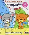 Lettres et nombres magiques : 3-4ans...