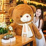 HUOQILIN Teddy Bear Hug Puppe Nettes Mädchen Zwei Meter Panda Plüschspielzeugpuppe (Color : A, Size : 120cm)