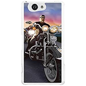 a AND b Designer Printed Mobile Back Cover / Back Case For Sony Xperia Z4 Mini (SON_Z4_MINI_1495)
