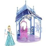 Disney Frozen MagiClip Flip 'N Switch Castle & Elsa Doll 10.1 X 3.4 X 8.2 Inches