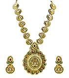 Zaveri Pearls Non-Precious Metal Gold Go...