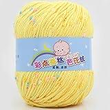UxradG Color Point Silk Barbie Kaschmir Milch Baumwolle Baby Wolle Baby Fashion Baumwolle Wolle, 6#, Free Size