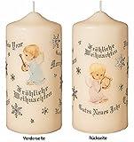 Weihnachtskerzen Angelo 15 x 7 cm