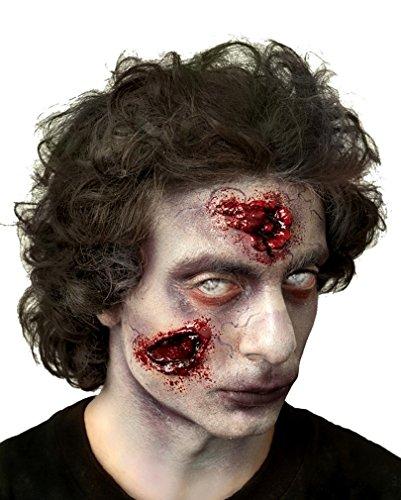 Fester Zombie Wunde 2-teilig (Fester Zombie)