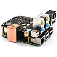 X6000P-7.1CH DIY Kits @Pzsmocn for Raspberry Pi 1 Model B+/2 Model B/3 Model B/Home Theater Systems