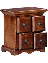 Chest of Drawers in Provincial Teak Finish by TiruPati Handicraft