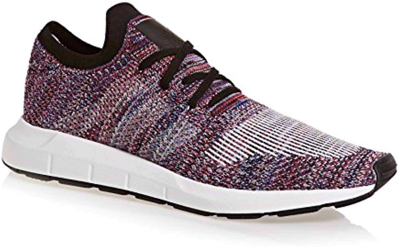 Adidas Swift Run Primeknit Hi-Res Red White Black 44.5 -