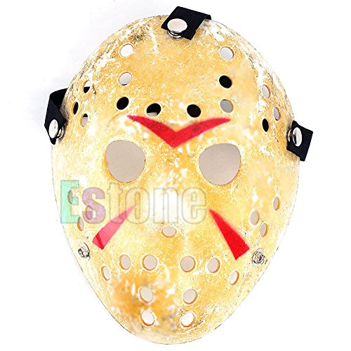(Sunhoyu Halloween Maske, Die 13. Jason Vs Freddy Prop Horror Hockey Halloween Kostüm Cosplay Maske)