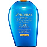 Shiseido Expert Sun Alternd Lotion wet Force - Damen, 1er Pack (1 x 100 ml)
