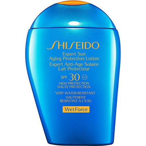 Shiseido Expert Sun Alternd Lotion wet Force - Damen, 1er Pack (1 x 100 ml) -