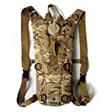 Tailcas® 3L Hydration Pack Water Rucksack Cycling Water Bladder Bag Drinking Backpack for Hiking Climbing and Other Outdoor Sports (CP Camo)