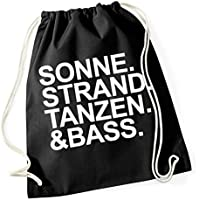 Sonne Strand Tanzen Bass Borsa De Gym Nero Certified