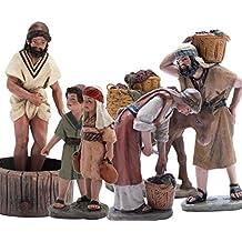 Triciclo Editores, S.L. Belén J.L.Mayo Escena Vendimia Completa - 6 Figuras BEL905