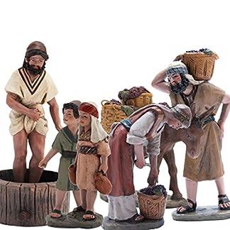 Triciclo Editores, S.L. Belén J.L.Mayo Escena Vendimia Completa – 6 Figuras BEL905