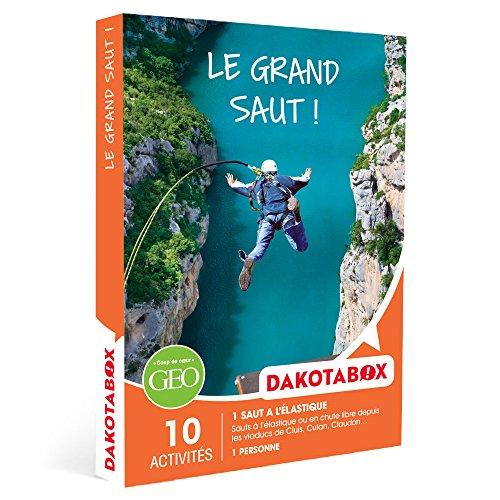DAKOTABOX - Coffret Cadeau - LE GRAND SAUT ! - 10 activités : sauts à l'élastique...