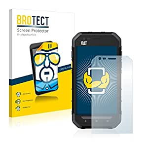 2x BROTECT HD-Clear Film Protection Caterpillar Cat S30 Protection Ecran - Transparent, Anti-Trace