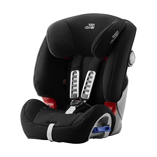 Britax Römer MULTI-TECH III Car Seat (9 Months-6 Years|9-25 kg), Cosmos Black  Advanced side impact protection - the SICT feature offers superior protection to your child in the event of a side collision Extended rearward facing - rearward facing car seats offer the best protection in the event of a frontal collision - the most frequent type of accident on the roads Deep, protective side wings - the soft, padded side wings act as a protective cocoon that helps to absorb the force from a side impact, reducing the risk of injuries to your child 1