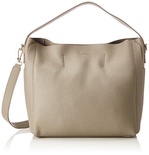 furla capriccio Furla Damen Capriccio Business Tasche, Braun (Sabbia B), 13x30x30 cm