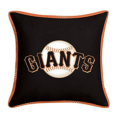 MLB San Francisco Giants Black Sideline Accent Pillow by Sports Coverage