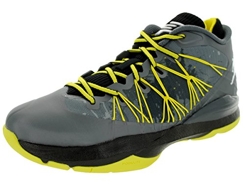 Jordan CP3 VII AE Dark Grey / White / Black / Vbrnt Yellow