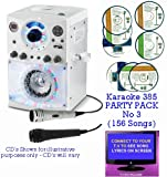 Executive BLUETOOTH Version Portable Karaoke Machine & CD Player – Family PARTY PACK