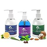 Mcaffeine Shampoo, 150ml with Face Wash, 150ml and Shower Gel, 150ml