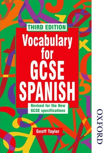 Vocabulary for GCSE Spanish - 3rd Edition (Zone 13)