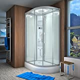 AcquaVapore QUICK26-7004R Dusche Duschtempel Komplette Duschkabine 80x120, EasyClean Versiegelung der Scheiben:Nein! +0.-EUR