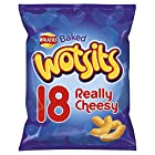 Walkers Wotsits Really Cheesy Snacks, 18 x 16.5 g