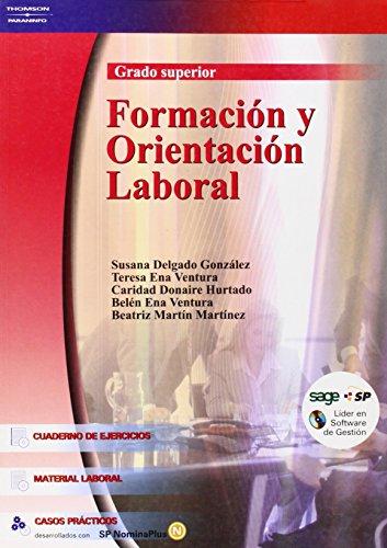 Formacion y Orientacion Laboral Grado Superior par SUSANA DELGADO GONZALEZ