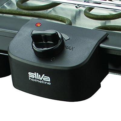 Silva Homeline BQ 253S Stand Berbecue Grill mit Thermostat