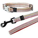 [Gesponsert]Hamate Multicolor winkte Hund Halsband und Leine Set