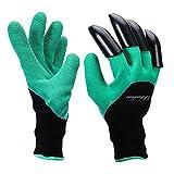 Garten Genie Handschuhe, Rihachan Genie Handschuhe mit Klauen zum Graben und Pflanzen, Gartenhandschuhe wie im Fernsehen gesehen (rechte Handklauen 1-pair)