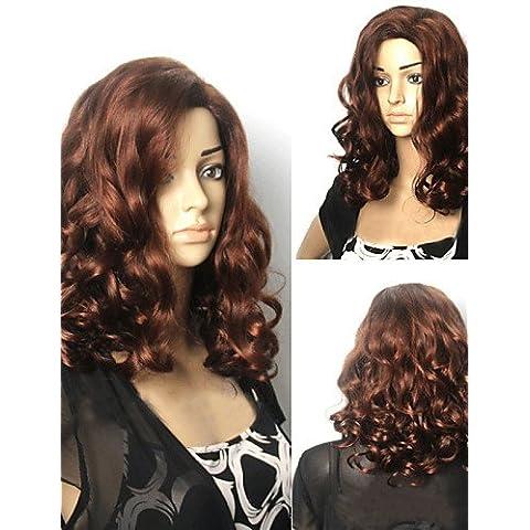 BBDM capelli ricci popolare parrucche dell'onda capelli parrucche sintetiche dei capelli parrucche stile popolare , blonde
