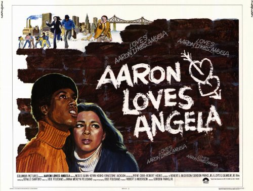 Aaron Loves Angela Affiche Movie Poster (11 x 14 Inches - 28cm x 36cm) (1975)