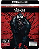 Venom (4K UHD + Blu-ray 3D + Blu-ray + Bonus Disc) ASIAN IMPORT IN HINDI / TAMIL / TELUGU