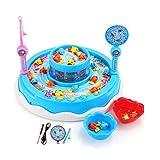 ZLJ Kinderfischenspielzeugbabykätzchen elektrisches Fischenvorteilspielzeug -