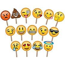 Decorazioni ASVP Shop® per fotografia e set fotografici in vari design  Emoji 2e907e317dbc