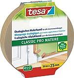 tesa Malerband CLASSIC Pro Nature für alle Standard Malerarbeiten, ökologisch, 50m:25mm