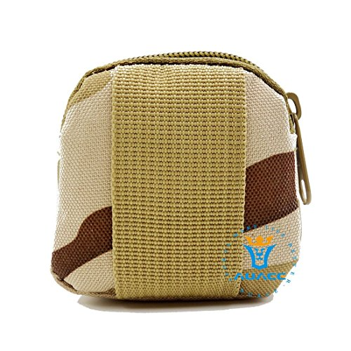 Multifunktions Mini Micro Survival Gear Tactical Beutel MOLLE POUCH Coin Schlüssel Pouch, Outdoor Camping Tragbare Travel Bags Handtaschen Werkzeug Taschen Taille Tasche DCU
