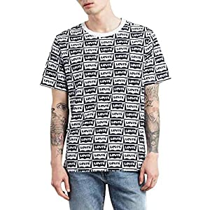 Camiseta Levis Oversized HM Blanco para Hombre