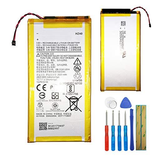 E-yiiviil Batterie de Rechange HZ40 Compatible avec Motorola Moto Z2 Play XT1710 SNN5985A 3,8 V avec Outils