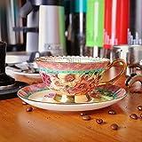 YMKCMC Becher Alte Porzellan Kaffeetasse Dish Suits Keramik Phnom Penh Nachmittagstee Tassen 220Ml D