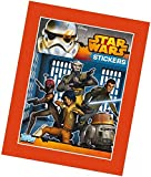 Topps TO00605 - Star Wars Rebels Sammelsticker, 50 Booster mit je 5 Karten im Display