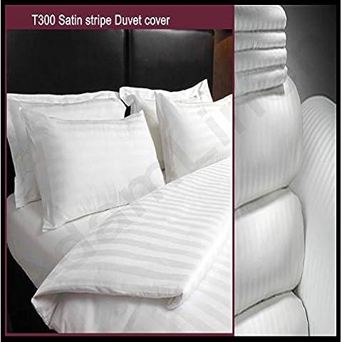 Adam Linens Luxury 5 Star Hotel Quality White 100%Cotton 300