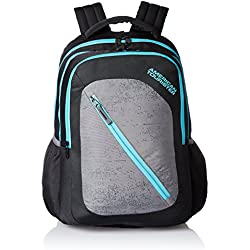 American Tourister 24 Ltrs Casper Black Casual Backpack (Casper Bacpack 08)
