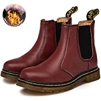 Dreamone Chelsea Boots Damen Herren Worker Boots Kurzschaft Winter Stiefel Wasserdicht Stiefeletten Schuhe